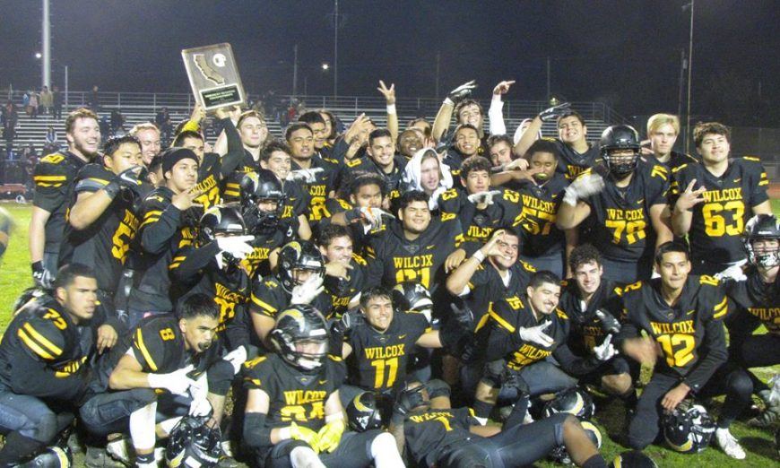 Wilcox Chargers Win NorCal State Championship