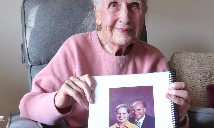 Norma Vuckan 100 years old