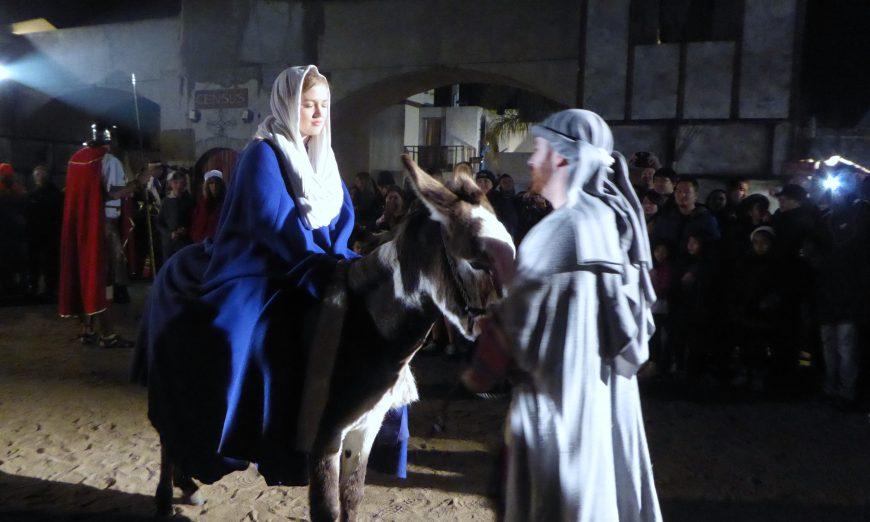 Star of Bethlehem Leads to Santa Clara First Baptist Church, Christmas