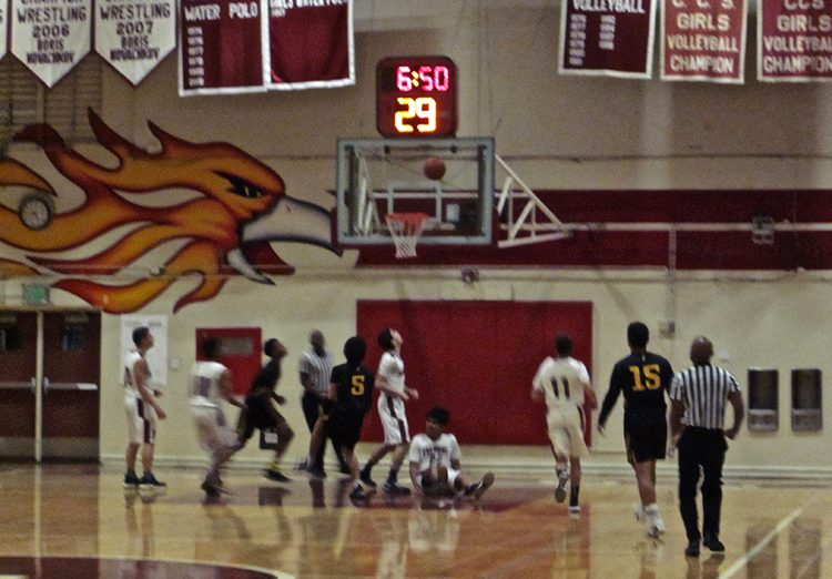 Fremont Staves Off Wilcox To Advance to Championship Game, Fremont Varsity Tournament, coach Tony Kikuta