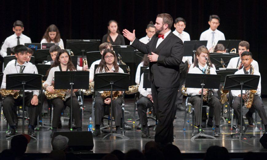 SCHS Winter Concert, Santa Clara High School