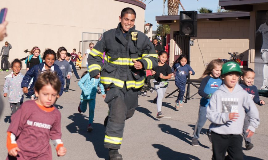 Santa Clara Firehouse Run Raises Thousands
