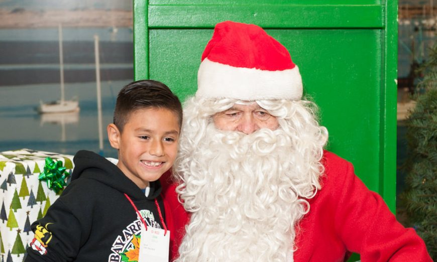 Students Get The Royal Treatment at Rotary's Christmas for Kids, Santa Clara Rotary, Lexus of Stevens Creek