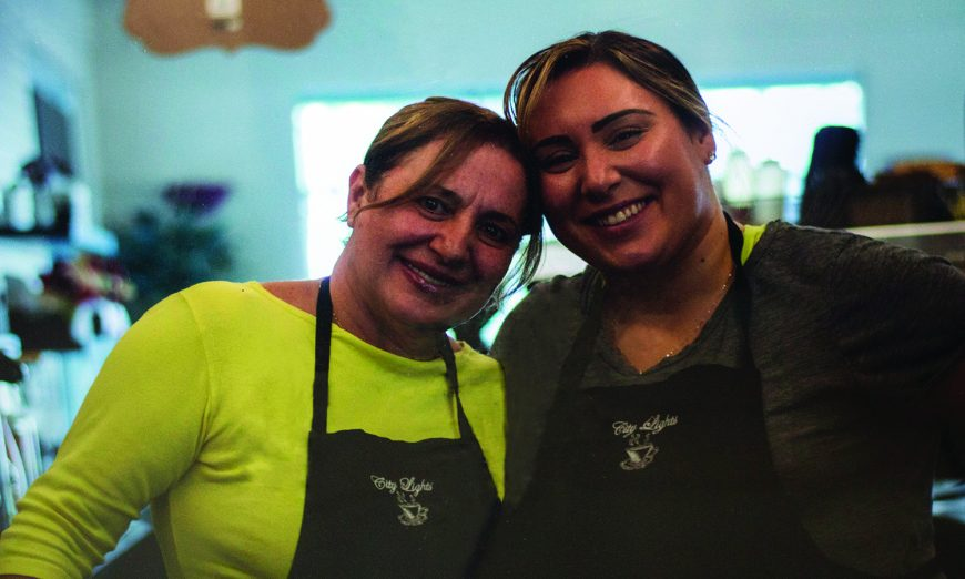 margaret Marques and jennifer Marques of City Lights Espresso