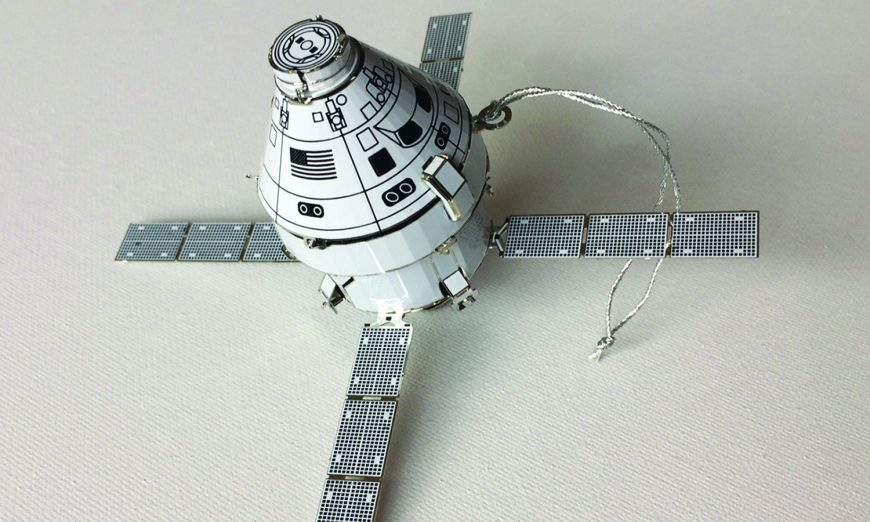 Sunnyvale Resident Sells Spacecraft Holiday Ornaments