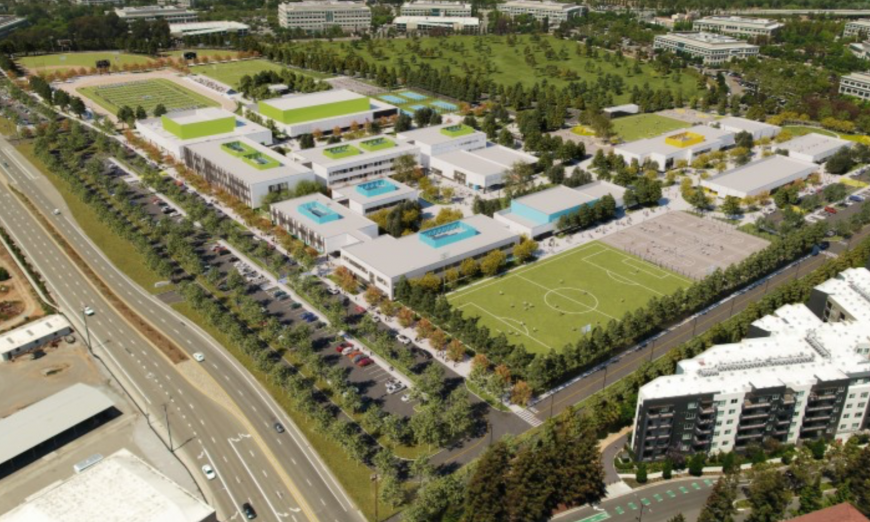 Agnews Campus Design Wins Award, Santa Clara Unified School District, Coalition for Adequate School Housing, sustainability