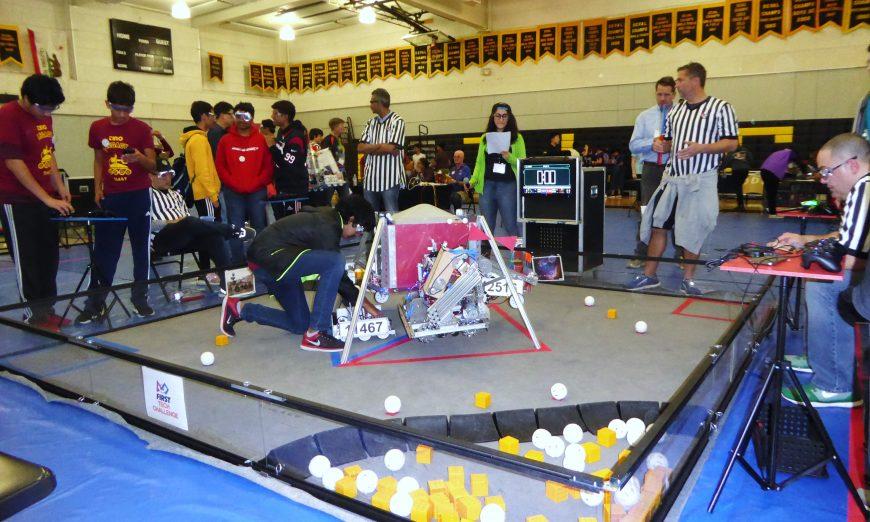 Robopocalypse, Wilcox Robotics Team Undefeated in NASA Qualifier Tournament, 2018-2019 NorCal FIRST Tech Challenge NASA Qualifier Tournament, Adrian Wilcox High School, Karen Hardy