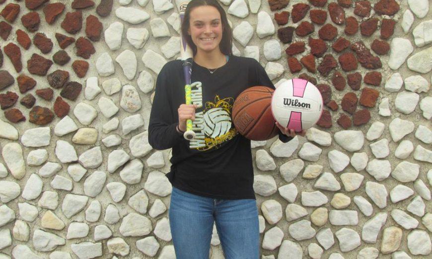 Meet Amanda McDowell: Corner Infielder, Outside Hitter and Center, triple-threat
