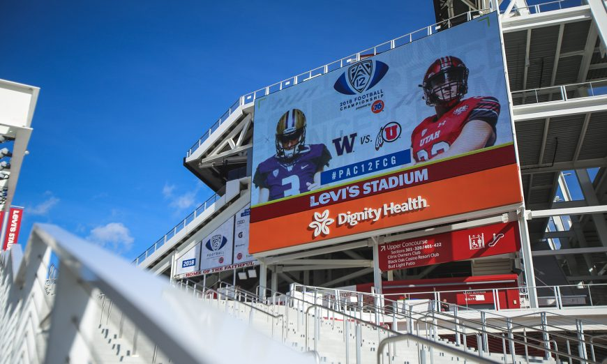 Pac-12 Game Will Leave Levi's Stadium After This Year, Pac-12 Championship Game