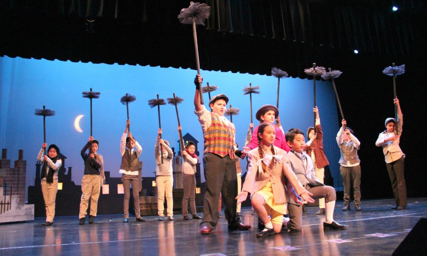 "Learn to Say ""Supercalifragilisticexpialidocious"" at Washington Open Elementary School's ""Mary Poppins"""