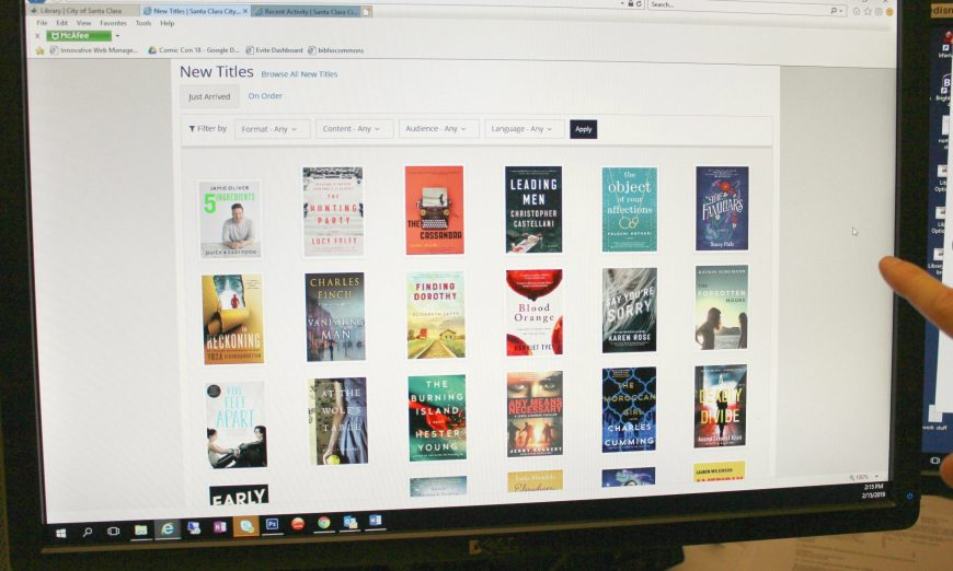 Santa Clara City Library Prepping for a New Online Catalog System, BiblioCommons
