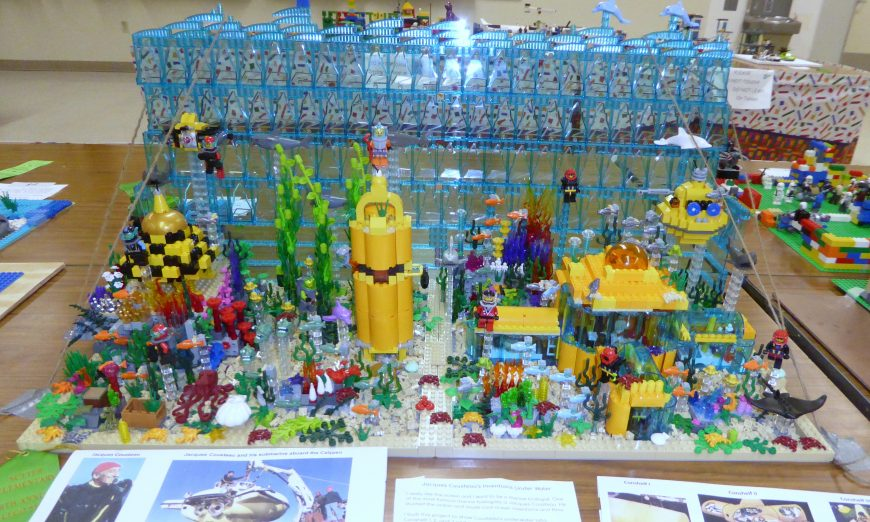 Sutter Students Ride the Lego Wave to Creative Fun, 6th Annual Sutter Lego Show, Brandon Chun
