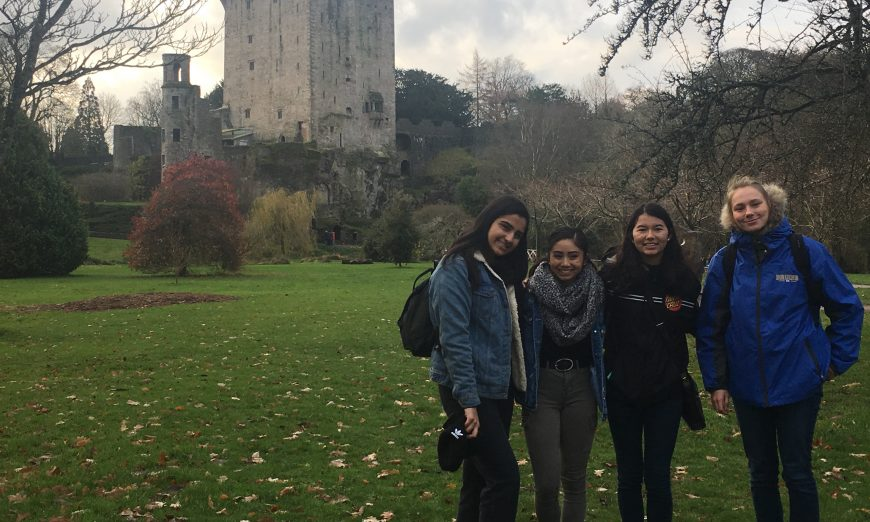 Santa Clara Sister Cities Association Youth Commissioners Remember Their Adventures in Ireland, Blarney Stone, St. Mary's Cathedral