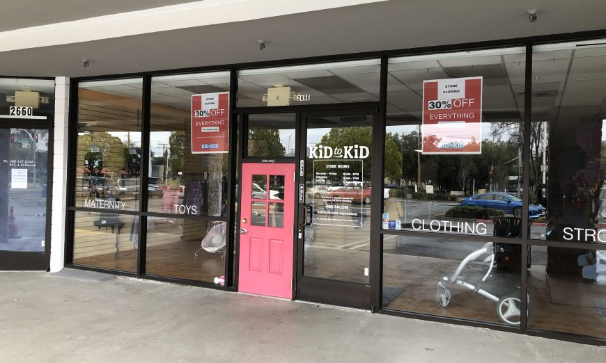 Santa Clara's Beloved Kid to Kid Store Closes, Steve Sanfilippo, consignment
