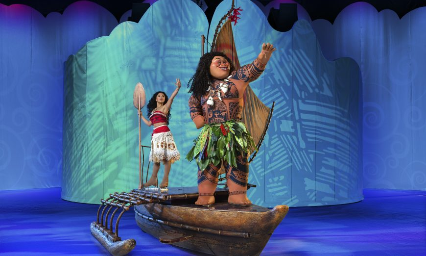 Disney On Ice to Feature Moana For The First Time, Performed by Northern California Native Skater, Marie and Tosha Hanford, SAP Center