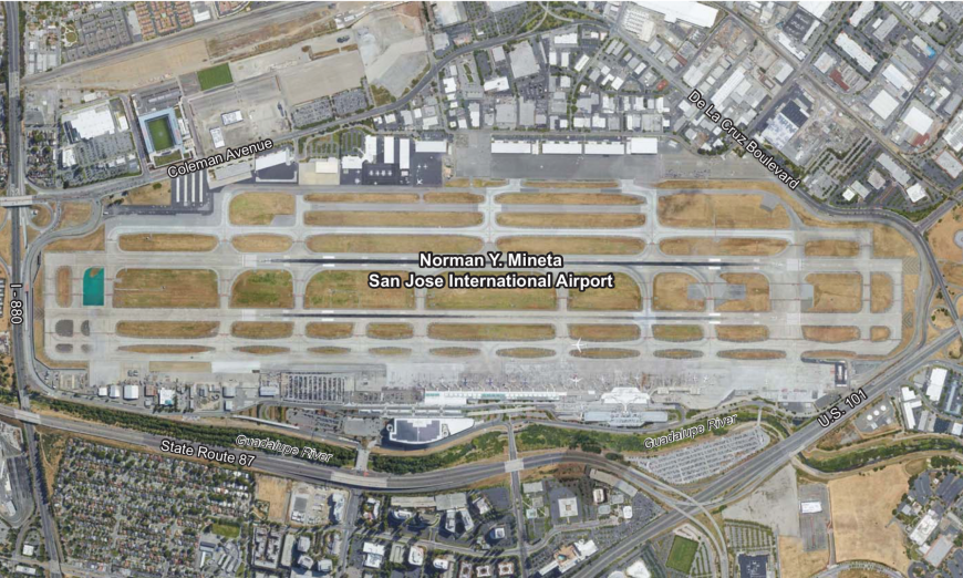 Complex Plan to Update San Jose Airport Underway SJC, Mineta San Jose International Airport (SJC) Master Plan