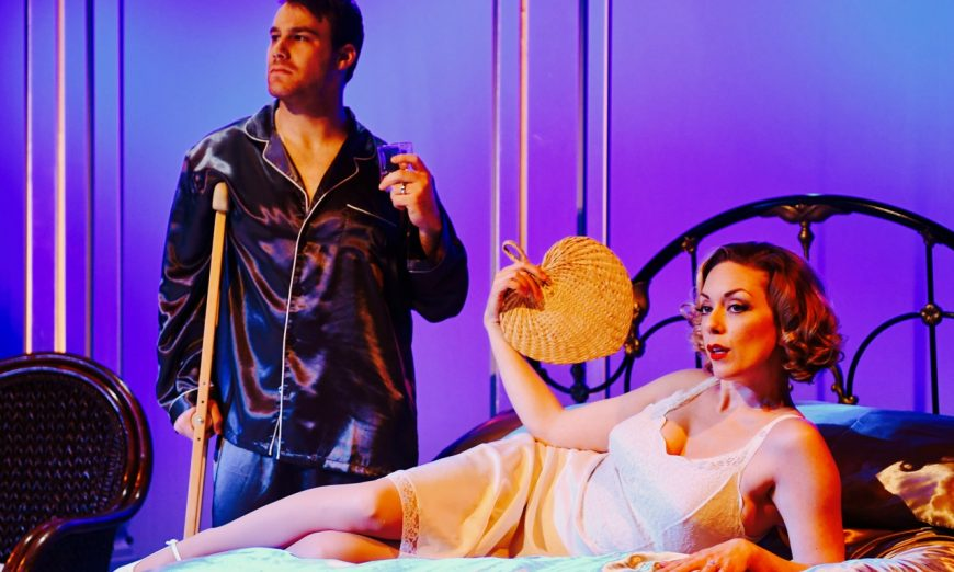 Burn, Baby, Burn: San José Stage's Cat on a Hot Tin Roof, Randall King as Big Daddy