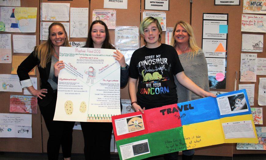 "Teacher Teachers from Buchser Middle School Form Cross-Curricular Unit to Teach ""The Martian"""