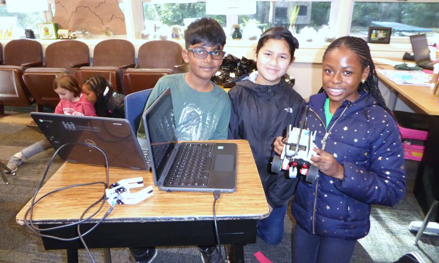 Sutter and Montague Schools Lead District with Computer Science Immersion Programs