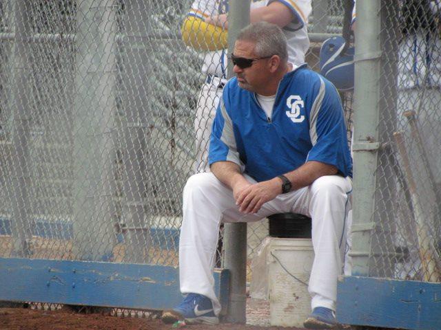 "Bruins' ""New"" Baseball Coach Fitting in Seamlessly, Coach Brad Comstock, Assistant Coach Al Bonvicino"