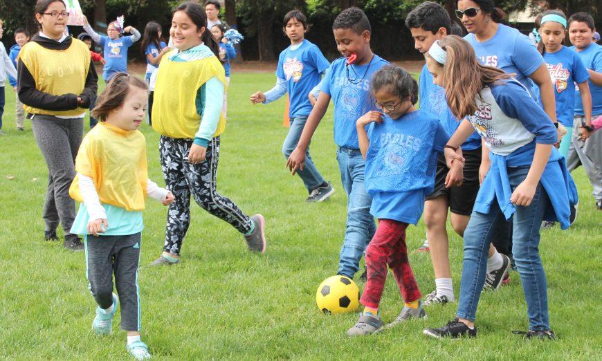 Santa Clara Unified School District Soccer Skills Program