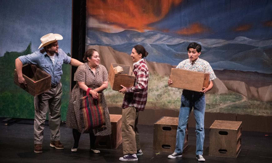 SCU Presents Breaking Through at Louis B. Mayer Theatre at Santa Clara University, immigrants, Francisco Jiménez