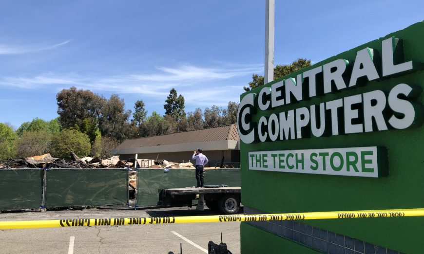 Central Computers Fire