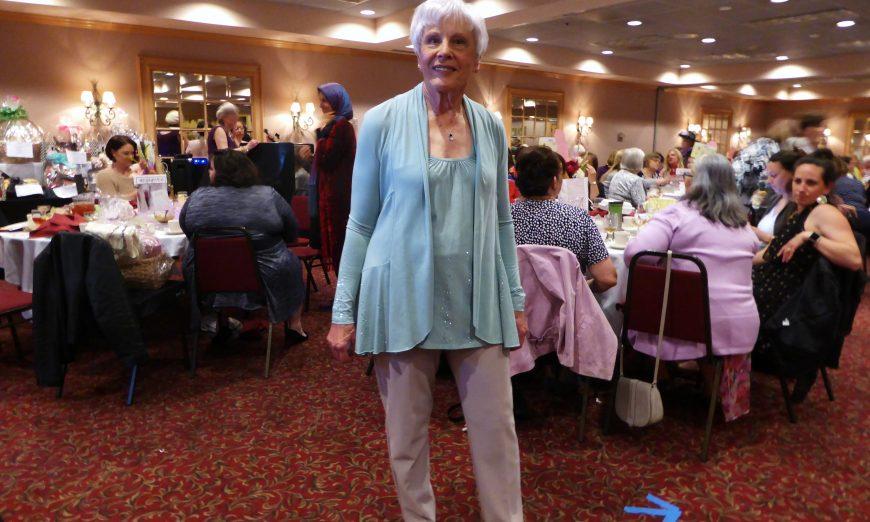 Clothes Make the Woman at La Belle Paris Woman's Club Fashion Show, Women's Club Fashion Show, Designer's Corner