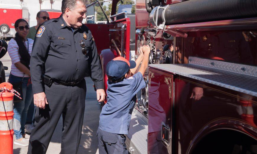 New Fire Chief Chief Bill Kelly Santa Clara Fire Department