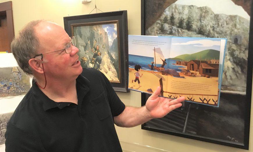 Santa Clara Author Tim Myers Yao Bai and the Egg Pirates Chinese