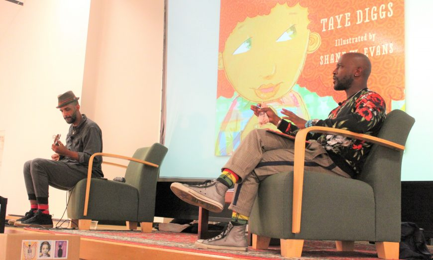 Taye Diggs and Shane Evans Discuss Their Children's Books