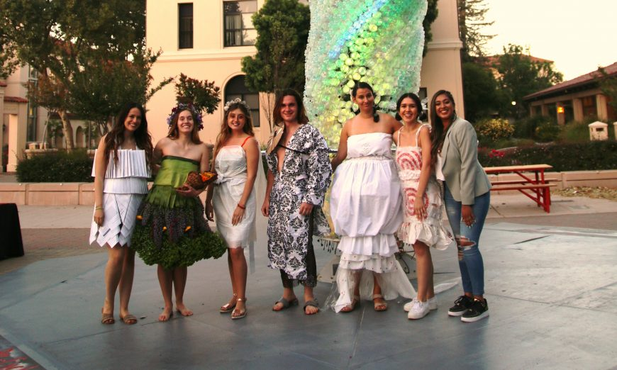 Santa Clara University 2019 Eco-Fashion Show Forge Organic Garden sustainability