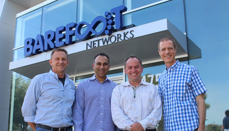 Intel Buys Santa Clara Based Barefoot Networks CEO Craig Barratt, Intel's Navin Shenoy