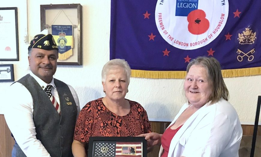 Sunny Dosanjh visits veterans in hospice and is a member of the American Legion Post 419. He also has PTSD and tries to help others.