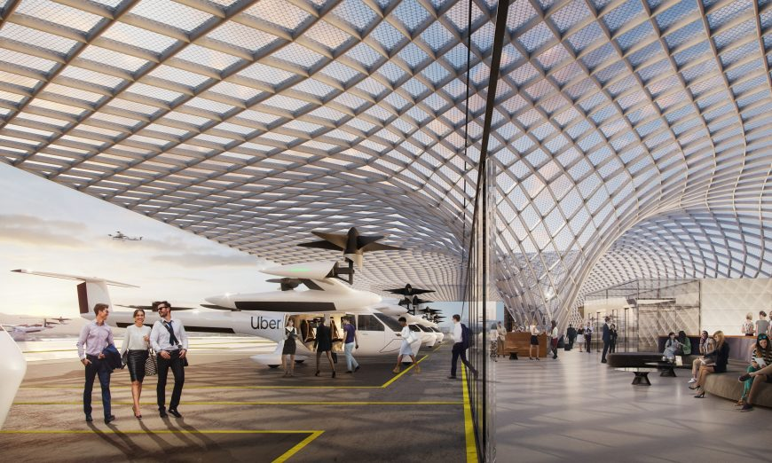 Skyport Uber Elevate Uber Air aircraft Related Santa Clara