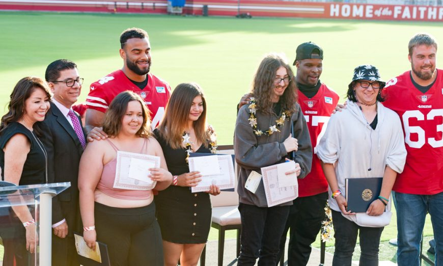 County Foster Youth Celebrate Accomplishments at Second Annual Graduation Event At Levi's Stadium, Department of Family and Children's Services