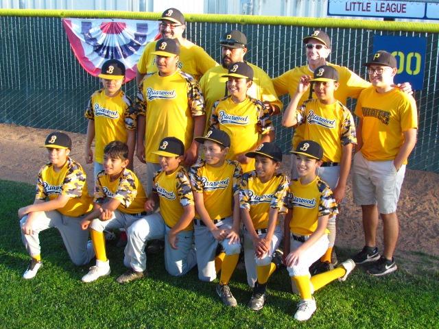 Briarwood Pirates Champions Mets TOCs