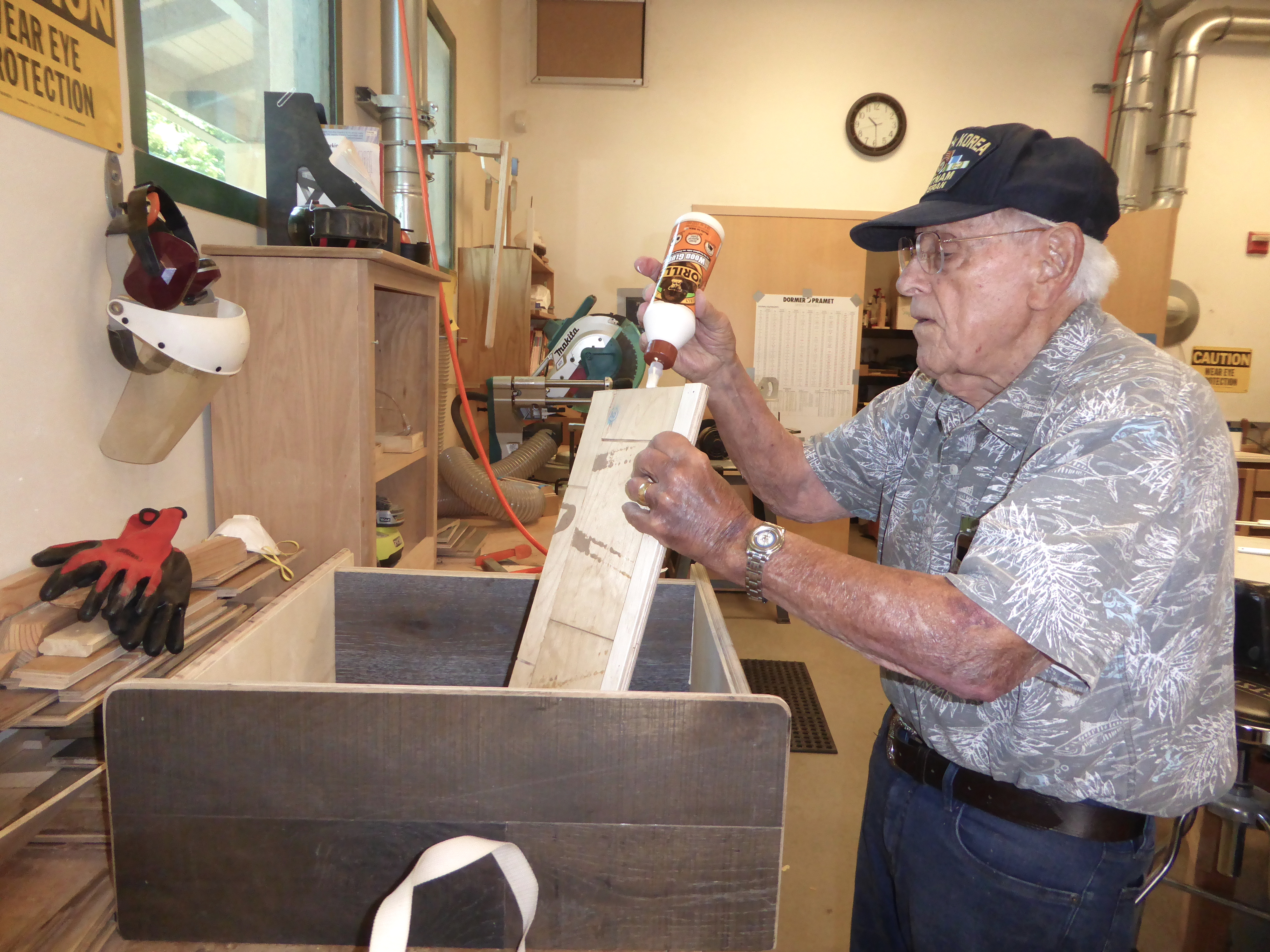 Santa Clara Senior Joe Aboussleman S Woodworking Projects Reflect A Lifetime Of Resourcefulness The Silicon Valley Voice