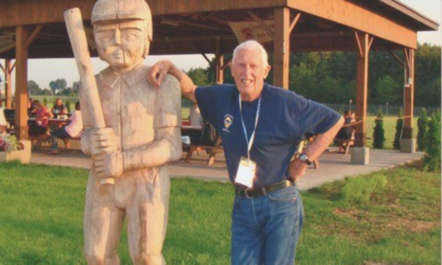 Howard Dickson has been named Little League Volunteer of the Year by Little League International.