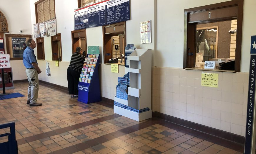 The Franklin Square Post Office in Santa Clara has been suffering from an internet outage for over a week. United States Postal Service