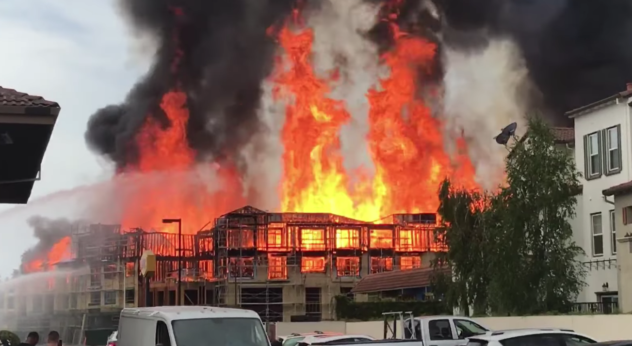 Police Investigating Fire at Santa Clara Construction Site ...