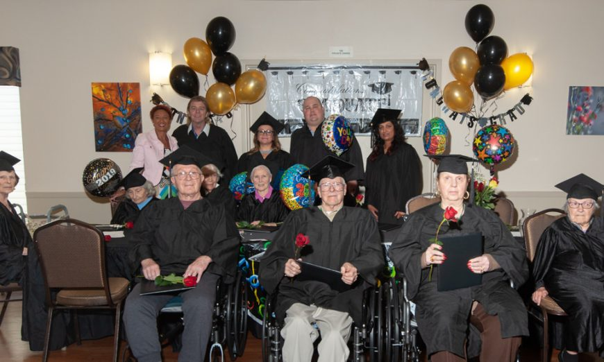 Graduation Day For Pacific Gardens Seniors
