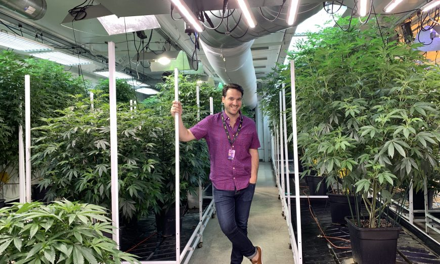 Marc Matulich and Airfield Supply Company provide an inside look into the marijuana business that is legal in San Jose, but not Santa Clara.