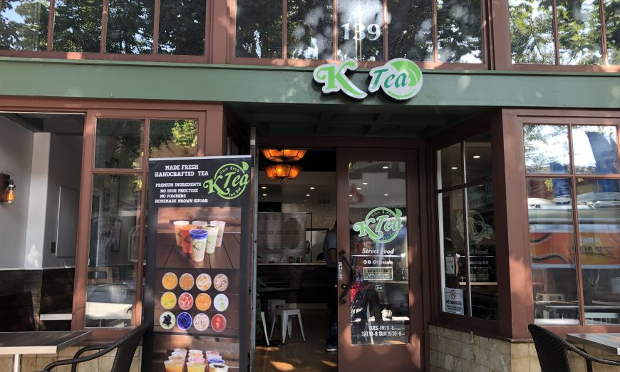 K Tea Café in Downtown Sunnyvale was founded by Mission College graduate Katie Voong. She serves jianbing, a traditional Chinese street food.