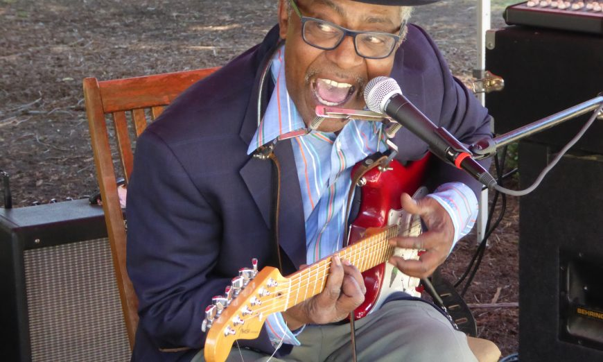 "Santa Clara Musician Ike Cosse is a living legend and is still singing the Blues. He has a new CD called ""Don't Give Up on Love"""