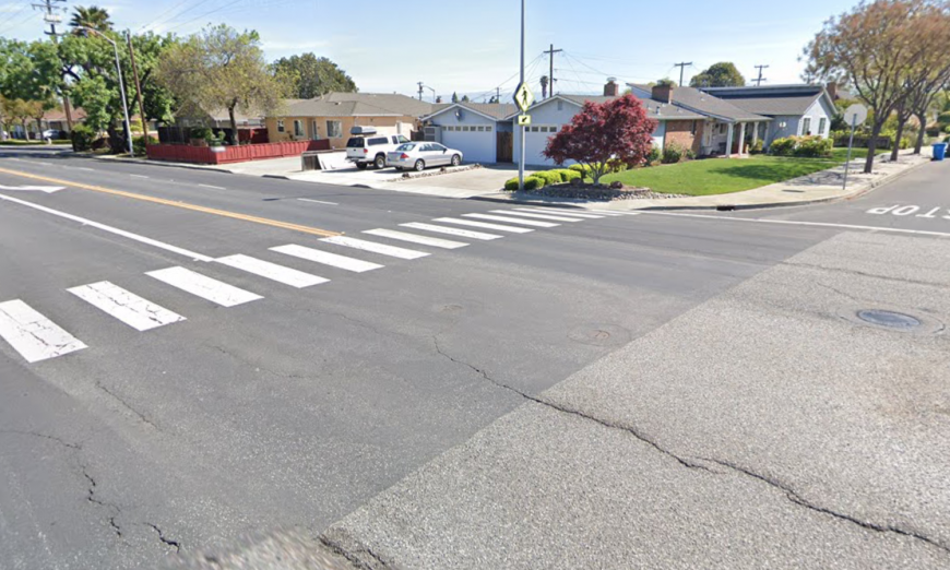 Santa Clara residents want the City of Santa Clara to install a pedestrian light at a risky crosswalk. They wrote a letter and have a signed petition.