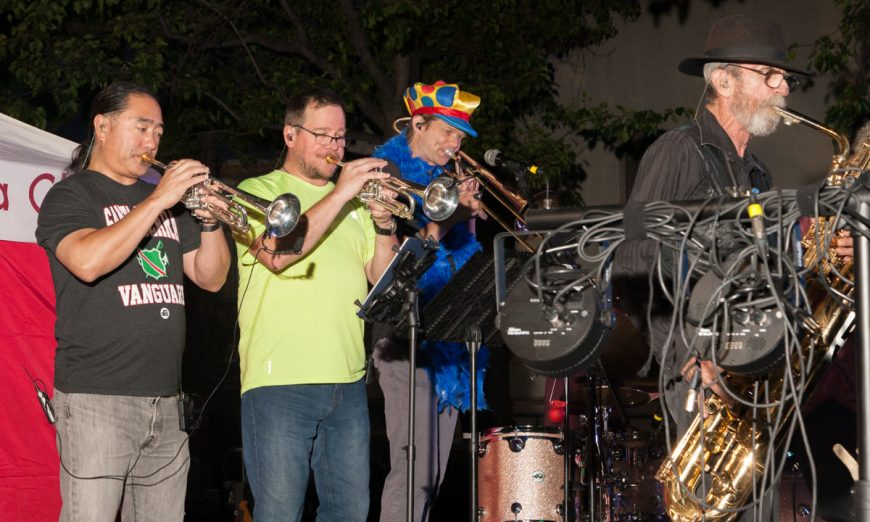 The City of Santa Clara had their annual Street Dance event featuring The Houserockers. The event had a new home on Jackson Street.