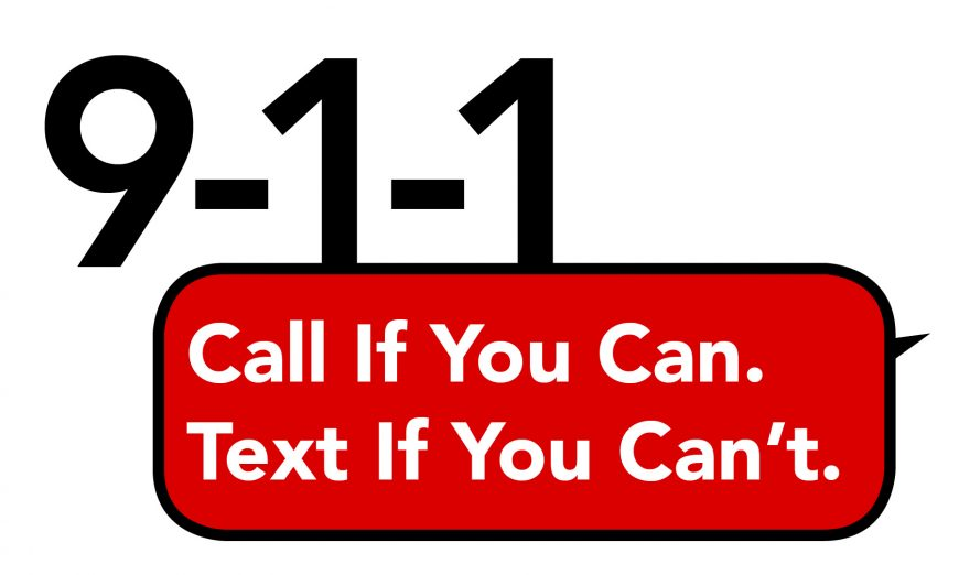 Text to 9-1-1 service now available in Santa Clara County cities. A useful service for the deaf. Texts monitored by County 9-1-1 Communications Department.