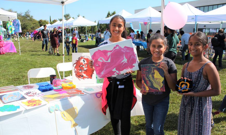 Santa Clara Children's Business Fair is now in it's second year and organizer Mikhil Kiran shared the business stories of the participants.