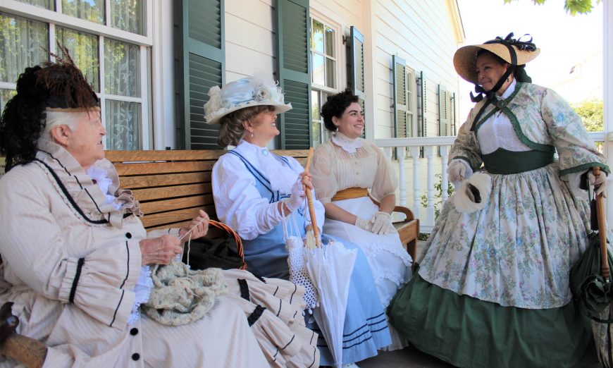 Sunnyvale Heritage Park Museum celebrated their 11th anniversary. The museum is a replica of Martin Murphy Jr.'s former home in 1850.